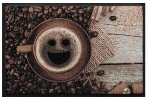 Fußmatte Kaffeebohne